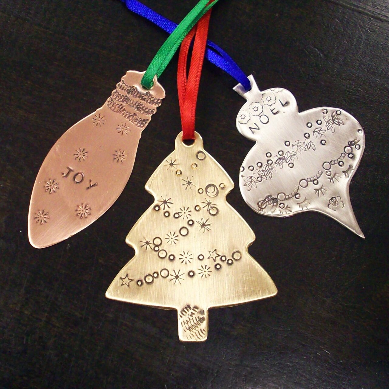 Drop-In Ornament Stamping - Flux Metal Arts Center8827 Mentor Ave., Suite A, Mentor, Ohio 44060Saturday, December 14th 10-4pm