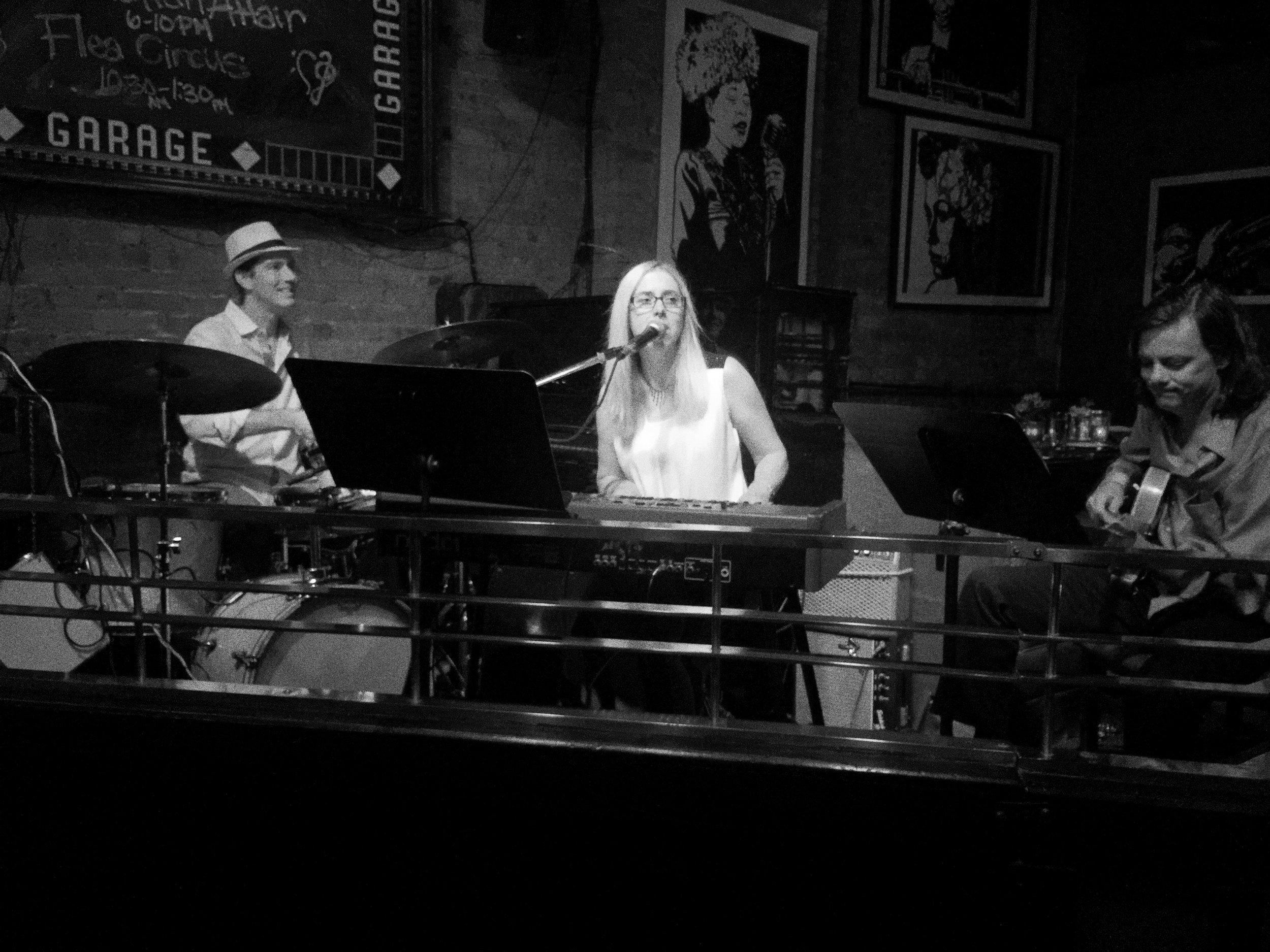 Adrienne McKay Trio at Garage, NY.