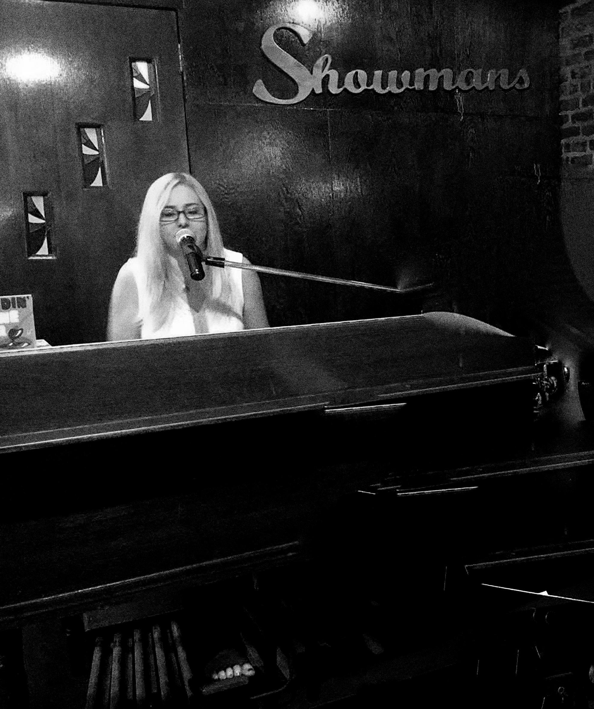 Adrienne McKay Trio at Showmans, NY.
