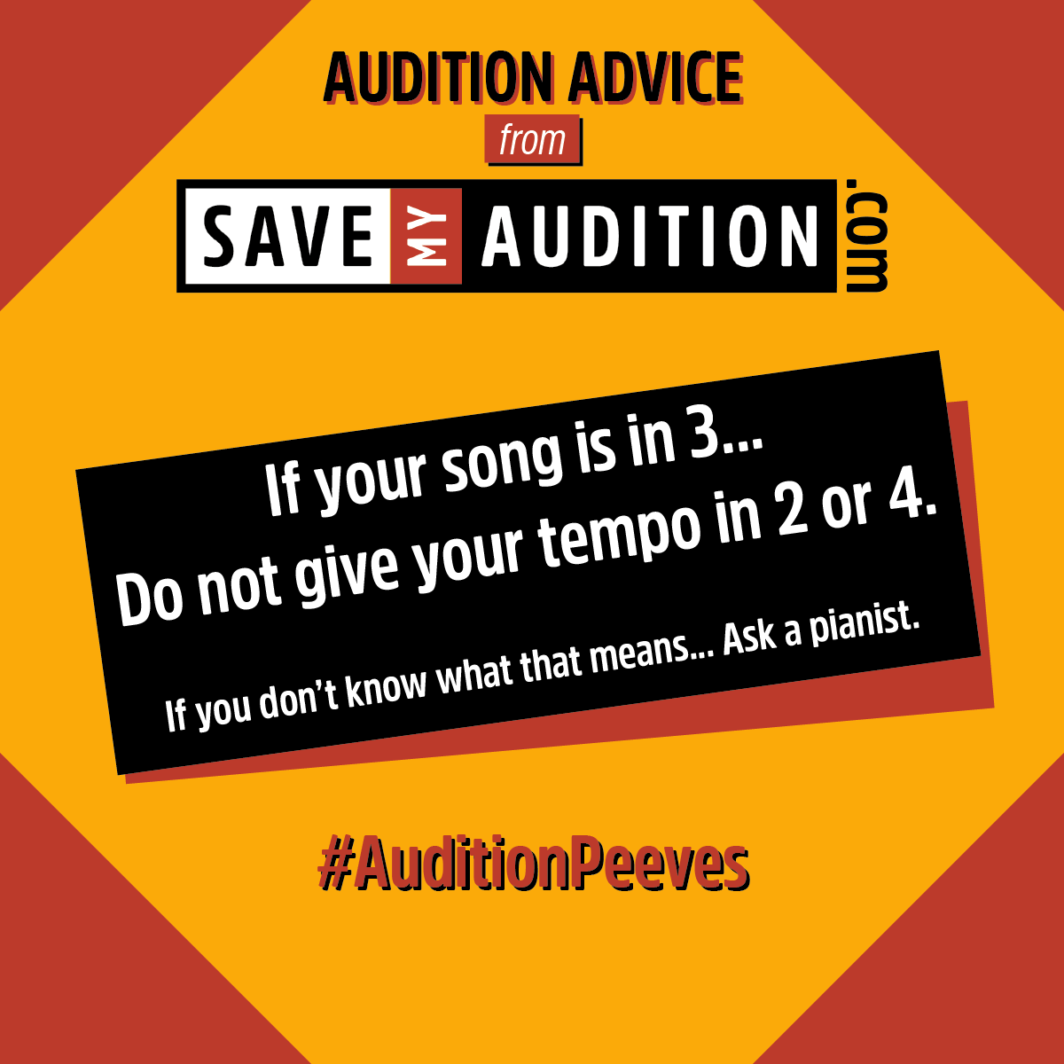 Musical Theater — Save My Audition Blog — Save My Audition com