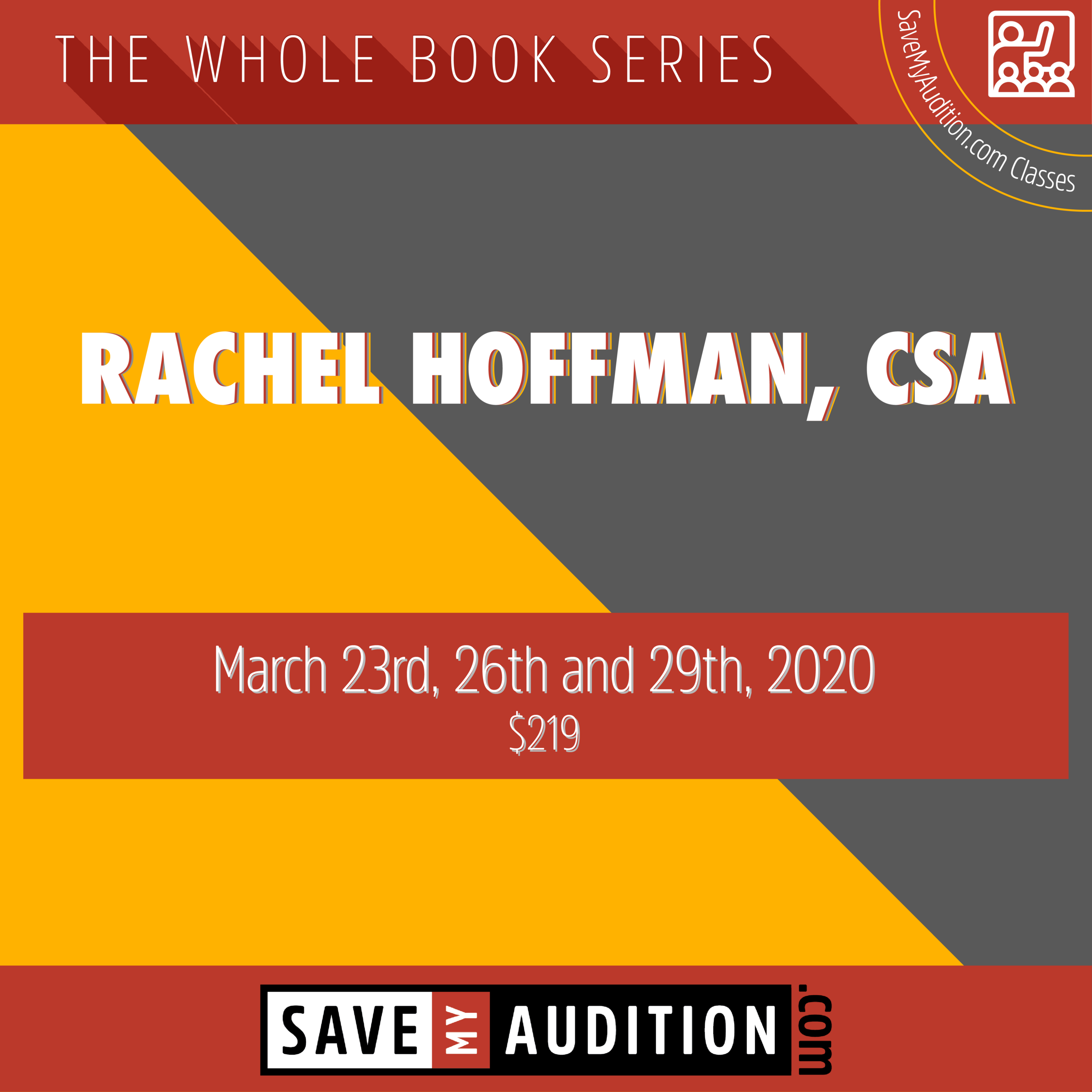 How The Grinch Stole Christmas Auditions 2020 THE WHOLE BOOK SERIES || RACHEL HOFFMAN, CSA || MARCH 23, 26, 29