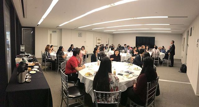It was wonderful sharing lunch at IMF with young leaders of @the_imf and @theasiafoundation where we discussed what shapes the work that we do and shared some impact best practices.