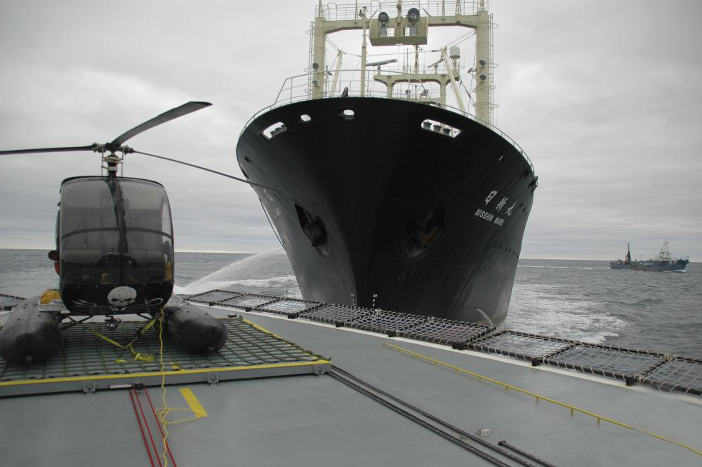 the-bow-of-japanese-factory-whaling-ship-the-nisshin-maru-bears-down-on-the-helicopter-deck-of-sea-shepherds-ship-the-my-steve-irwin-in-a-near-collision-a-japanese-harpoon-whaling-vessel-can-be-seen-sailing-in-the-background-335.jpg
