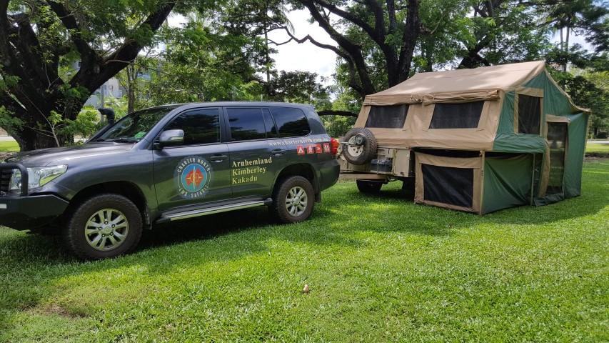 Karijini Tours comfortable camping