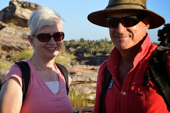 Karijini Tours Australia guide with guest