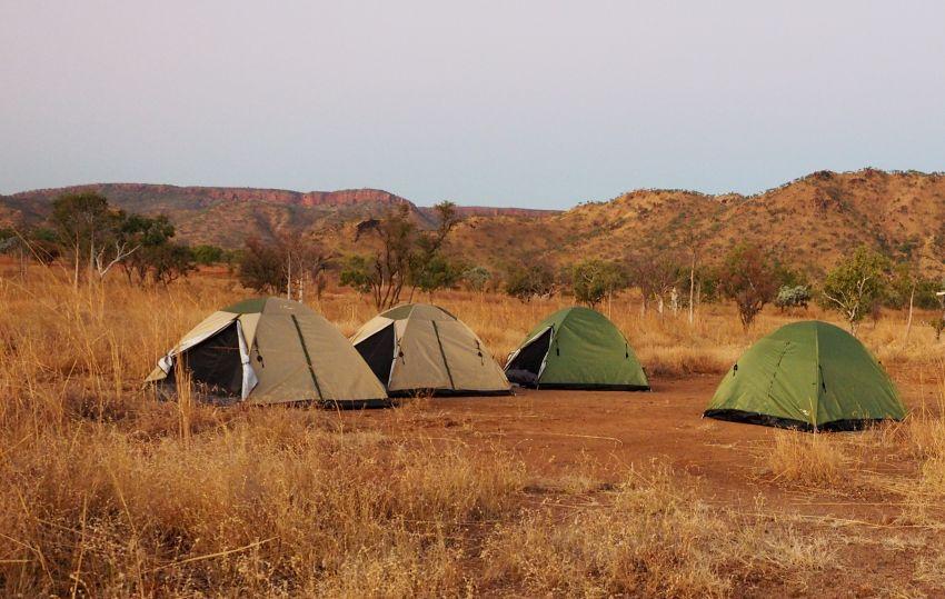 Karijini Tours tent camping option