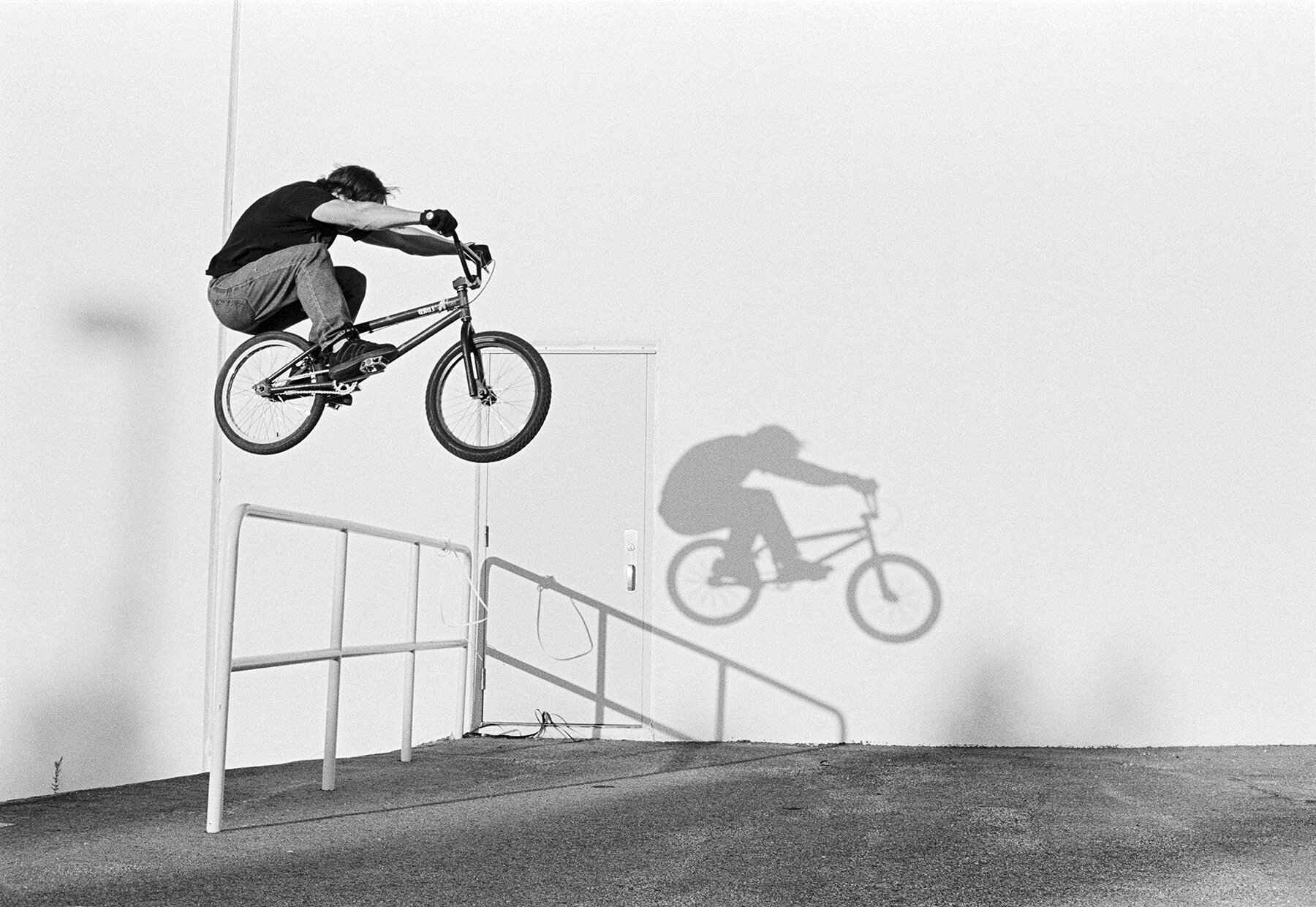 Donnacha Carroll, Alexandria VA 2002    My love for BMX and skateboarding are the reason's I got into photography in the late 90's. Most of my work as with these few shots are on film and unlike these they have never been digitized as I didn't have the means back then.  Hopefully that will change soon.