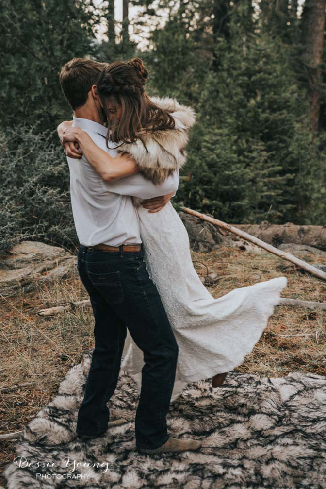 Mountain Elopement in Shaver Lake California by Bessie Young Photography Wild Elopement - Adventure Elopement-154.jpg