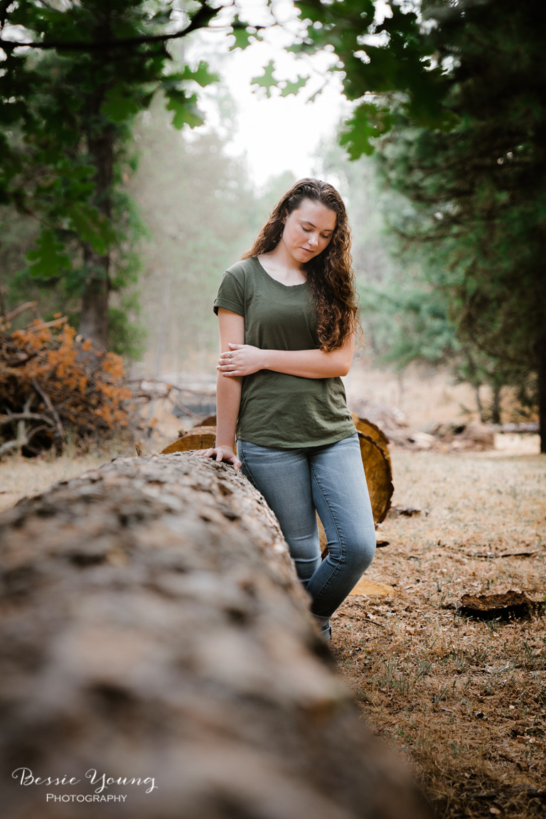 Tuolumne Senior Portraits - Summerville High School Senior Portraits by Bessie Young Photography - Sonora Photographer - California Photographer - Senior portrait pose ideas