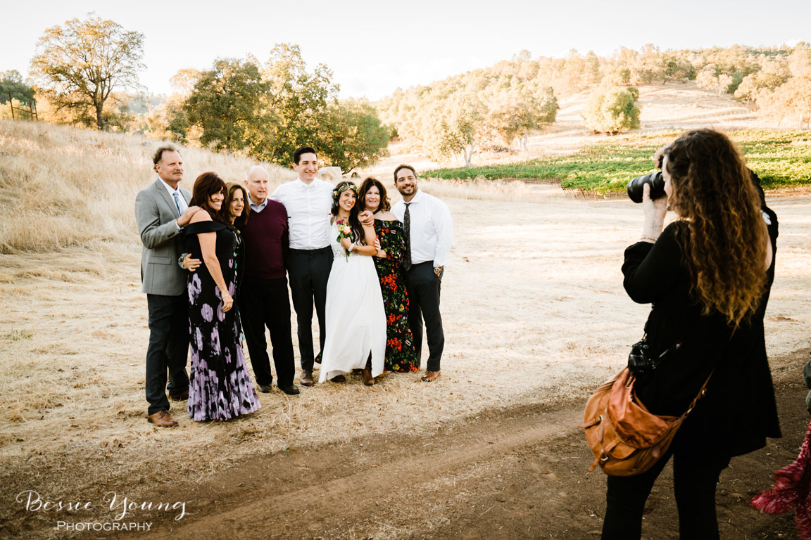 Sonora Wedding with California Governor Jerry Brown by Bessie Young Photography