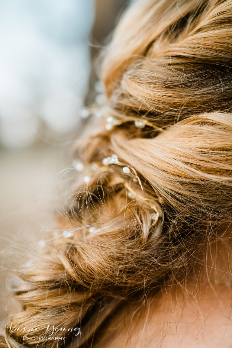 Bridal Hair Inspiration by Bessie Young Photography