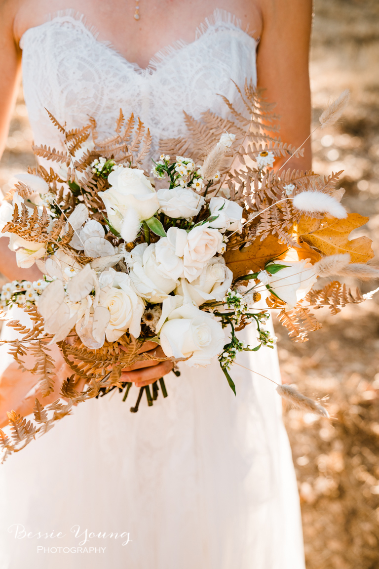 Fall Bouquet Inspiration by Bessie Young Photography - Sonora Wedding
