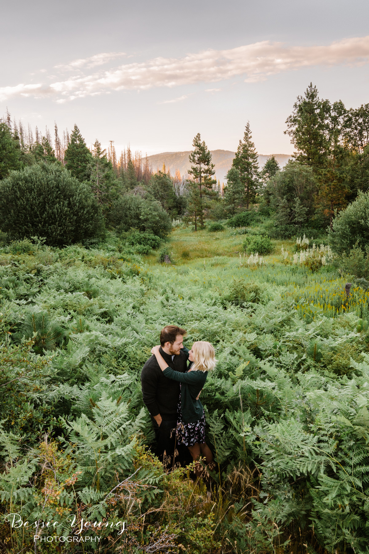 Shaver Lake Engagement Photos | Fresno Wedding Photographer  | Meghan + Clay by Bessie Young Photography
