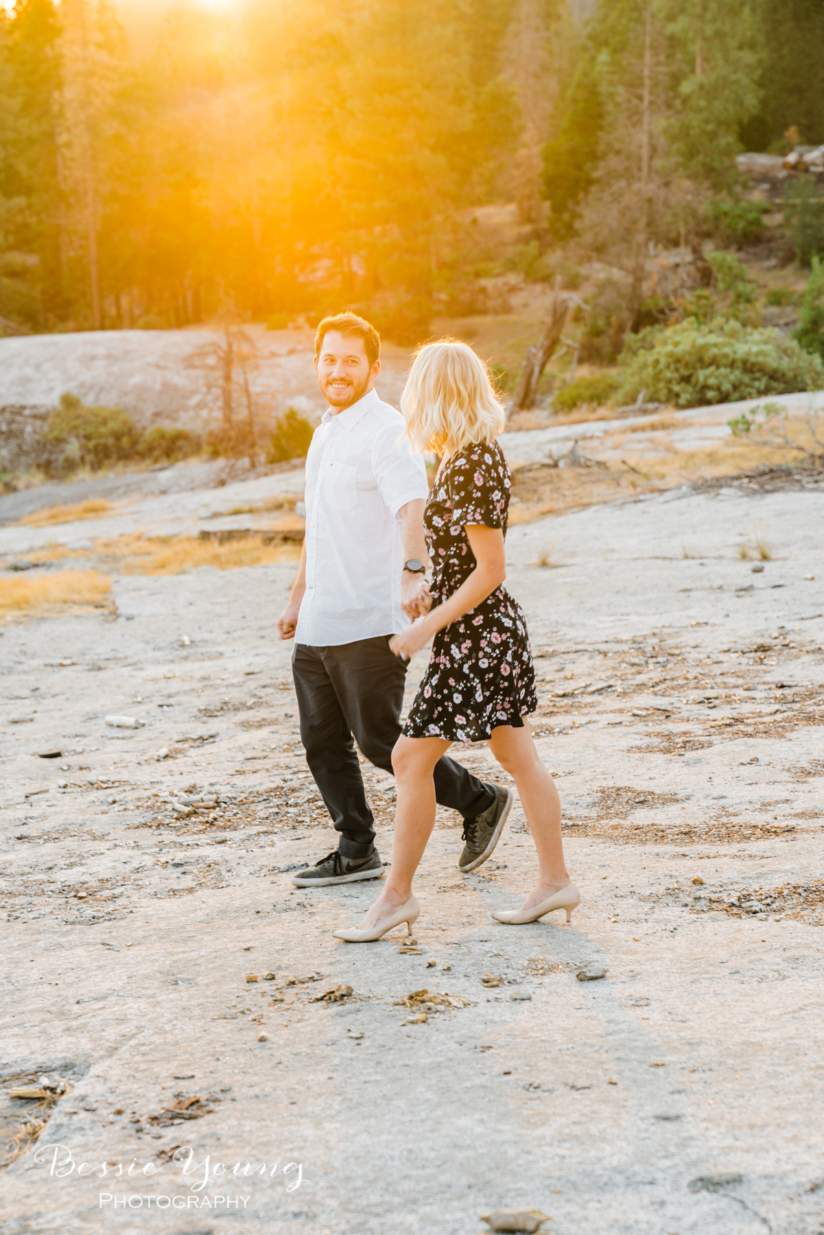 Mountain Engagement Photos Ideas by Bessie Young Photography