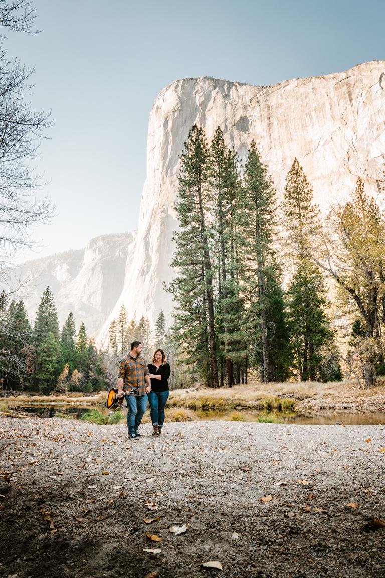 Yosemite Engagement Session | Yosemite Elopement Photographer - Jordan + Brandon