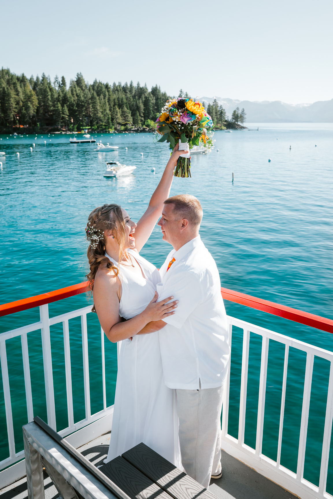 Zephyr Cove Wedding | South Lake Tahoe Wedding | Sonora Photographer | Yosemite Elopement Photographer Bessie Young