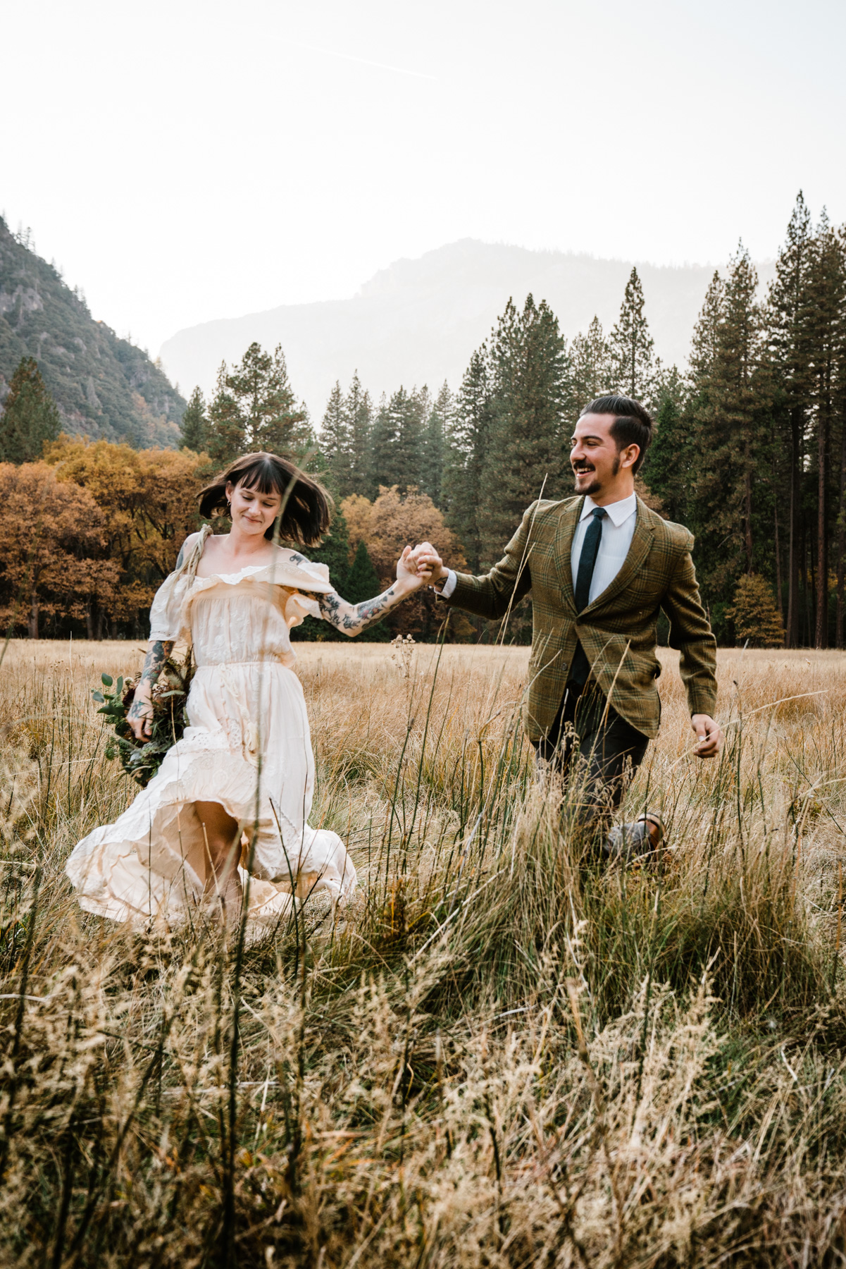 Sequoia National Park Wedding by Bessie Young Photography