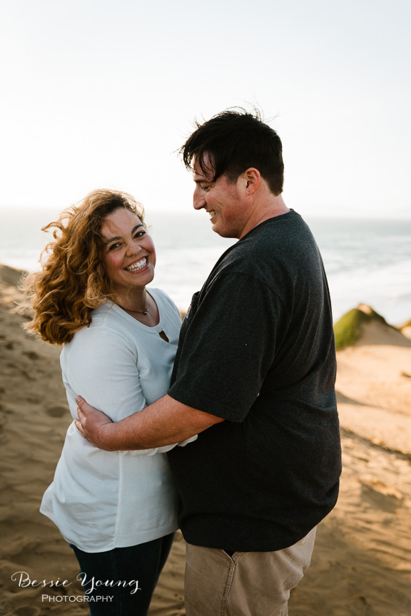 Fort Funston San Francisco Engagement Session | Yosemite Elopement Photographer | Christina and Alex by Bessie Young Photography