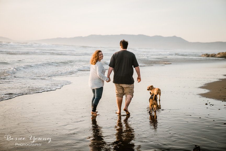 Fort Funston San Francisco Engagement Session   Yosemite Elopement Photographer   Christina and Alex by Bessie Young Photography