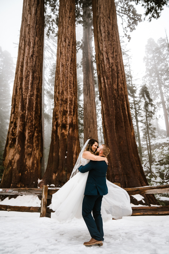Sequoia National Park Elopements by Bessie Young Photography - Sequoia and Kings Canyon National Park