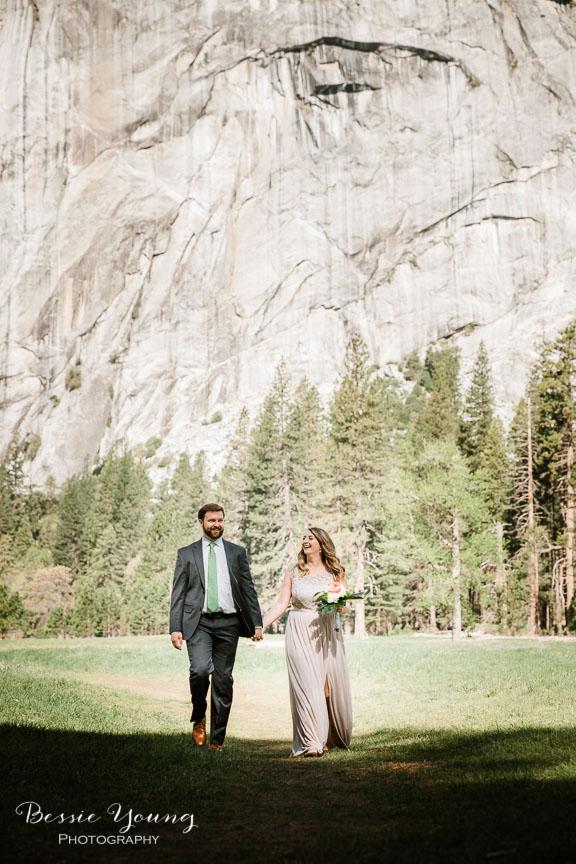 Swinging Bridge Yosemite Elopement Photographer -  Katie and Zach - Bessie Young 2019-269.jpg