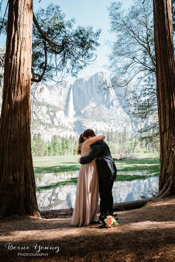 Swinging Bridge Yosemite Elopement Photographer -  Katie and Zach - Bessie Young 2019-190.jpg