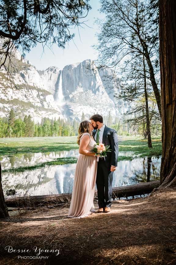 Swinging Bridge Yosemite Elopement Photographer -  Katie and Zach - Bessie Young 2019-203.jpg