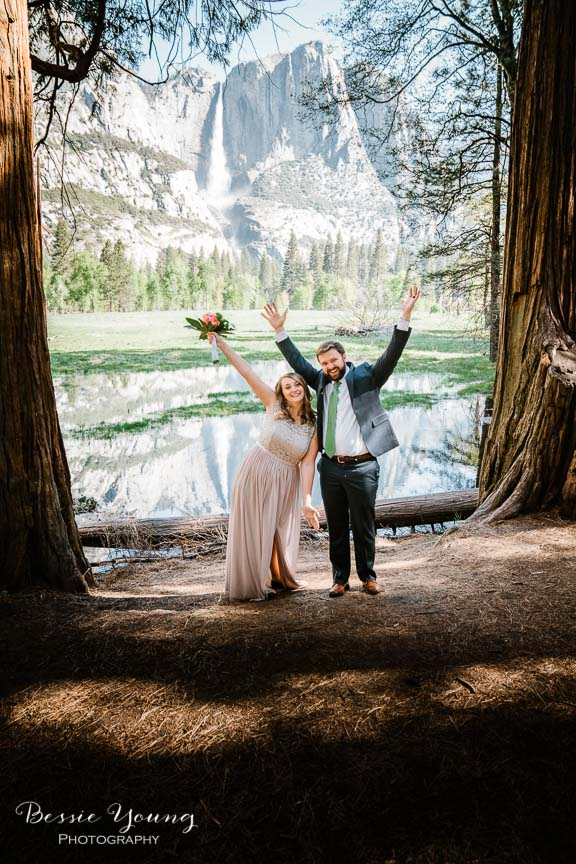 Swinging Bridge Yosemite Elopement Photographer -  Katie and Zach - Bessie Young 2019-211.jpg