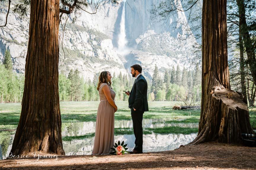 Swinging Bridge Yosemite Elopement Photographer -  Katie and Zach - Bessie Young 2019-123.jpg