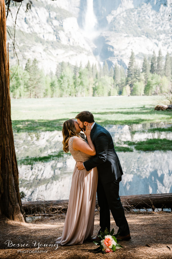 Swinging Bridge Yosemite Elopement Photographer -  Katie and Zach - Bessie Young 2019-184.jpg
