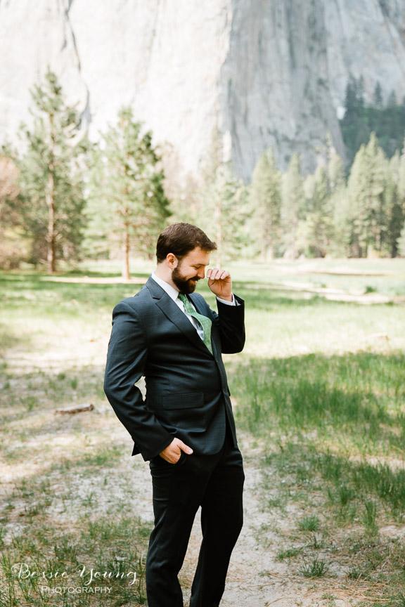 Swinging Bridge Yosemite Elopement Photographer -  Katie and Zach - Bessie Young 2019-313.jpg