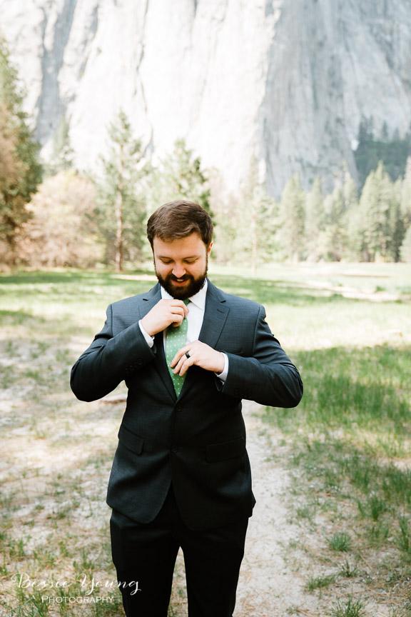 Swinging Bridge Yosemite Elopement Photographer -  Katie and Zach - Bessie Young 2019-310.jpg