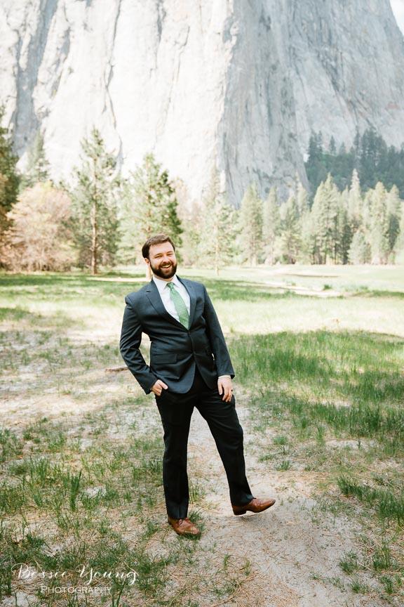 Swinging Bridge Yosemite Elopement Photographer -  Katie and Zach - Bessie Young 2019-314.jpg
