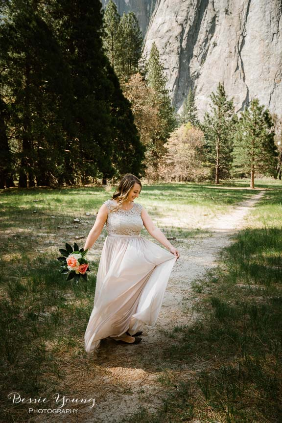 Swinging Bridge Yosemite Elopement Photographer -  Katie and Zach - Bessie Young 2019-347.jpg