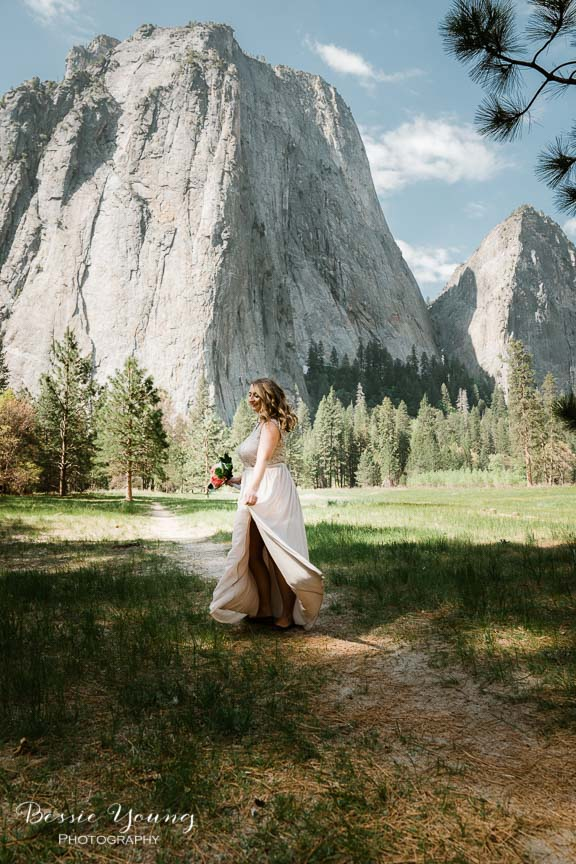 Swinging Bridge Yosemite Elopement Photographer -  Katie and Zach - Bessie Young 2019-356.jpg
