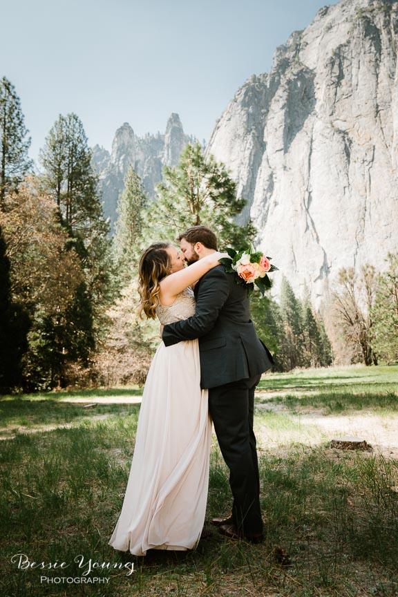 Swinging Bridge Yosemite Elopement Photographer -  Katie and Zach - Bessie Young 2019-412.jpg