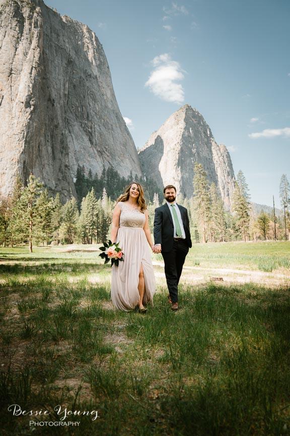 Swinging Bridge Yosemite Elopement Photographer -  Katie and Zach - Bessie Young 2019-478.jpg