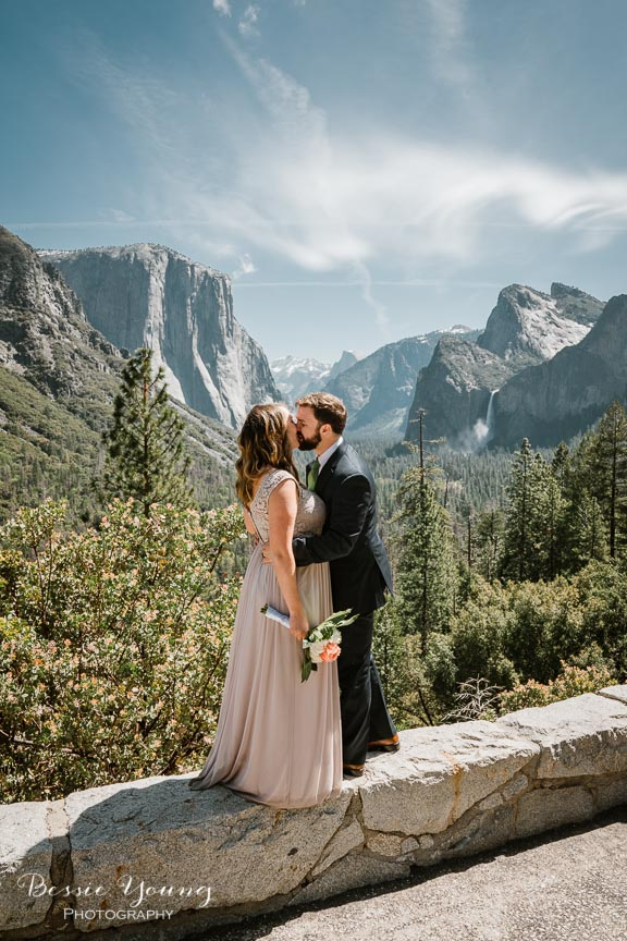 Swinging Bridge Yosemite Elopement Photographer -  Katie and Zach - Bessie Young 2019-419.jpg