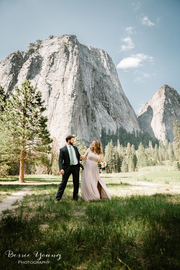 Swinging Bridge Yosemite Elopement Photographer -  Katie and Zach - Bessie Young 2019-495.jpg