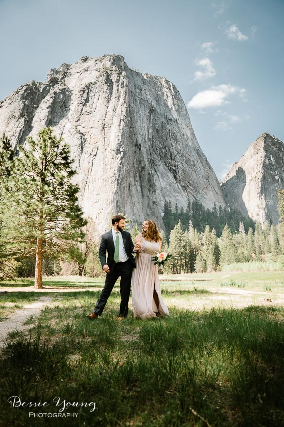 Swinging Bridge Yosemite Elopement Photographer -  Katie and Zach - Bessie Young 2019-496.jpg