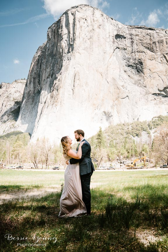 Swinging Bridge Yosemite Elopement Photographer -  Katie and Zach - Bessie Young 2019-500.jpg