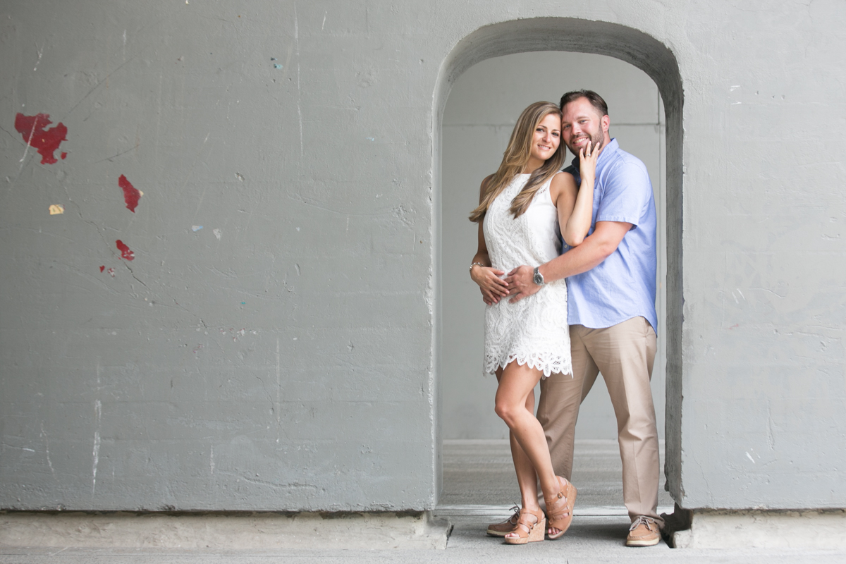 Engagement Photos on The Hiline by NY Wedding Photographer