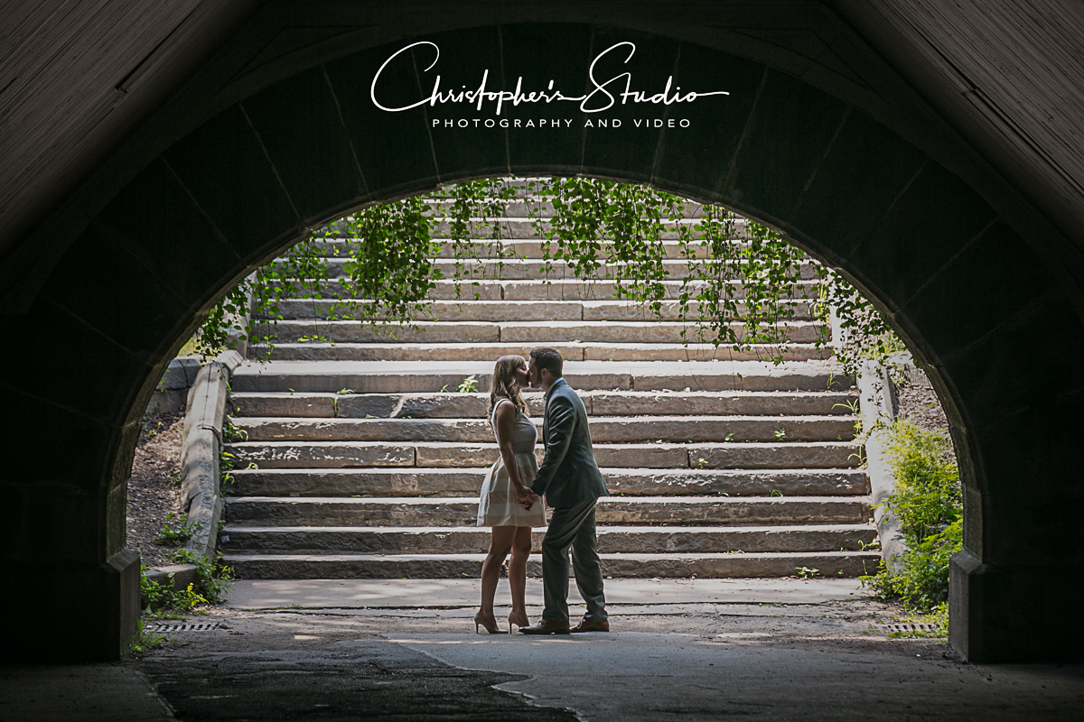 Central Park NY is a super romantic location for a proposal story.