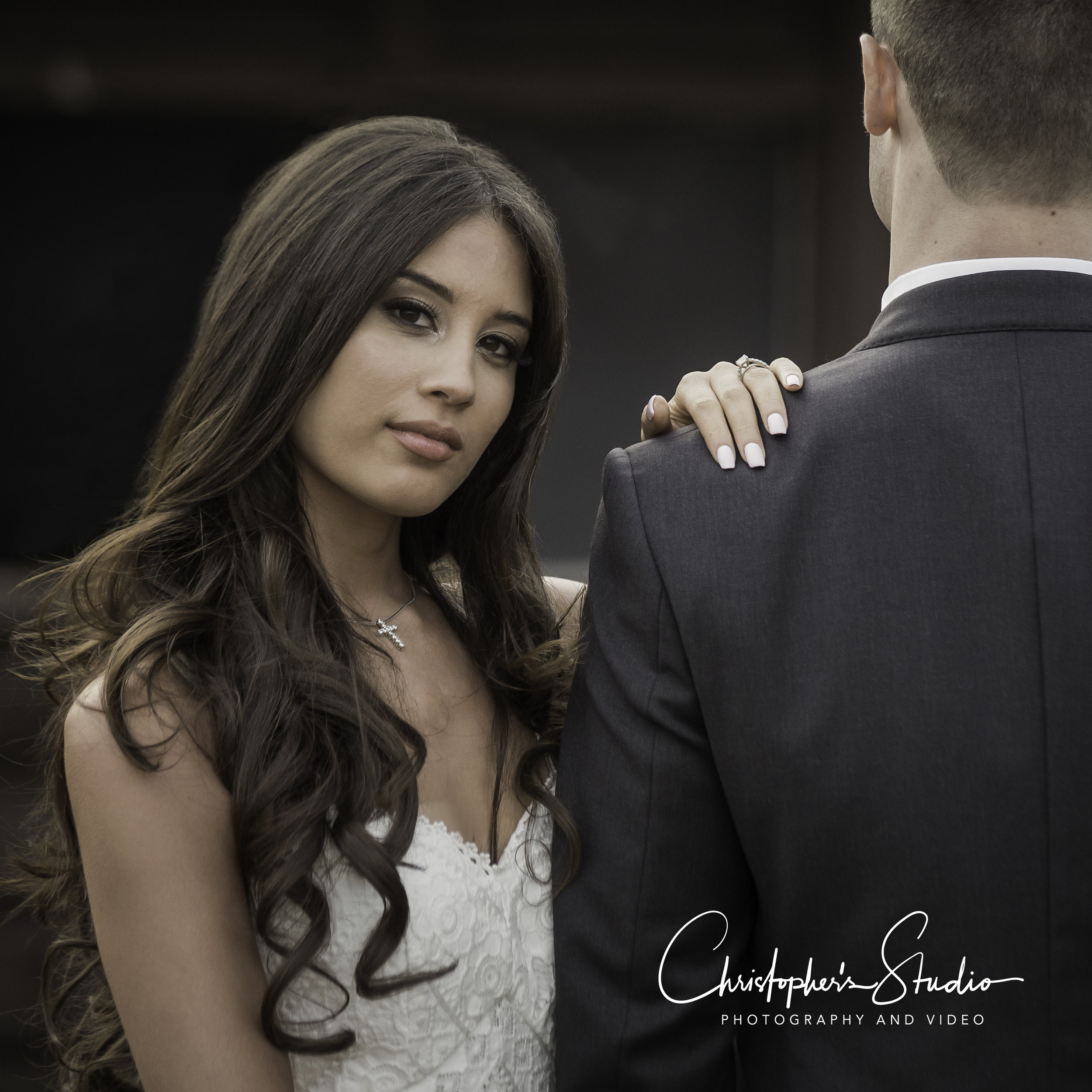 Love this shot! Palisades Cliff's Wedding Photography