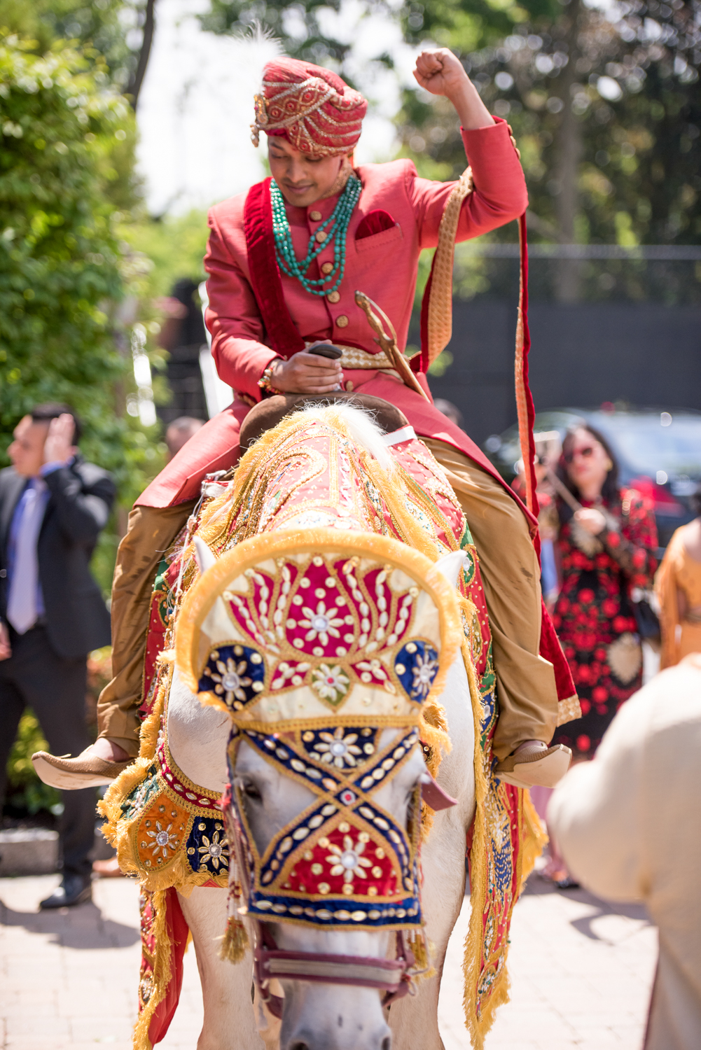indian-wedding-photography-white-horse