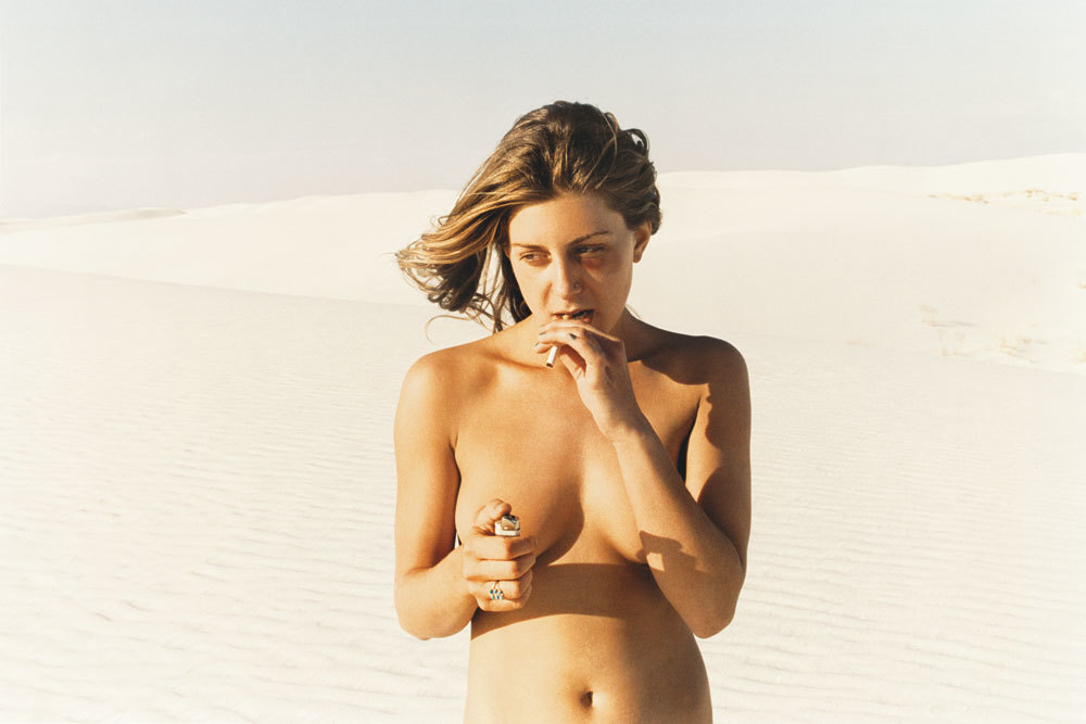 Lilly (Black Eye), 2005. Courtesy of Ryan McGinley