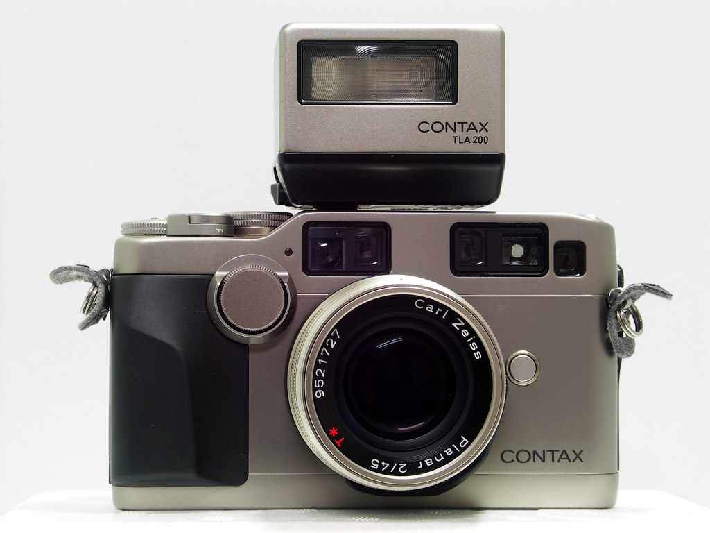 """Contax G2-1"" by  Lordcolus  is is licensed under  CC BY 2.0"
