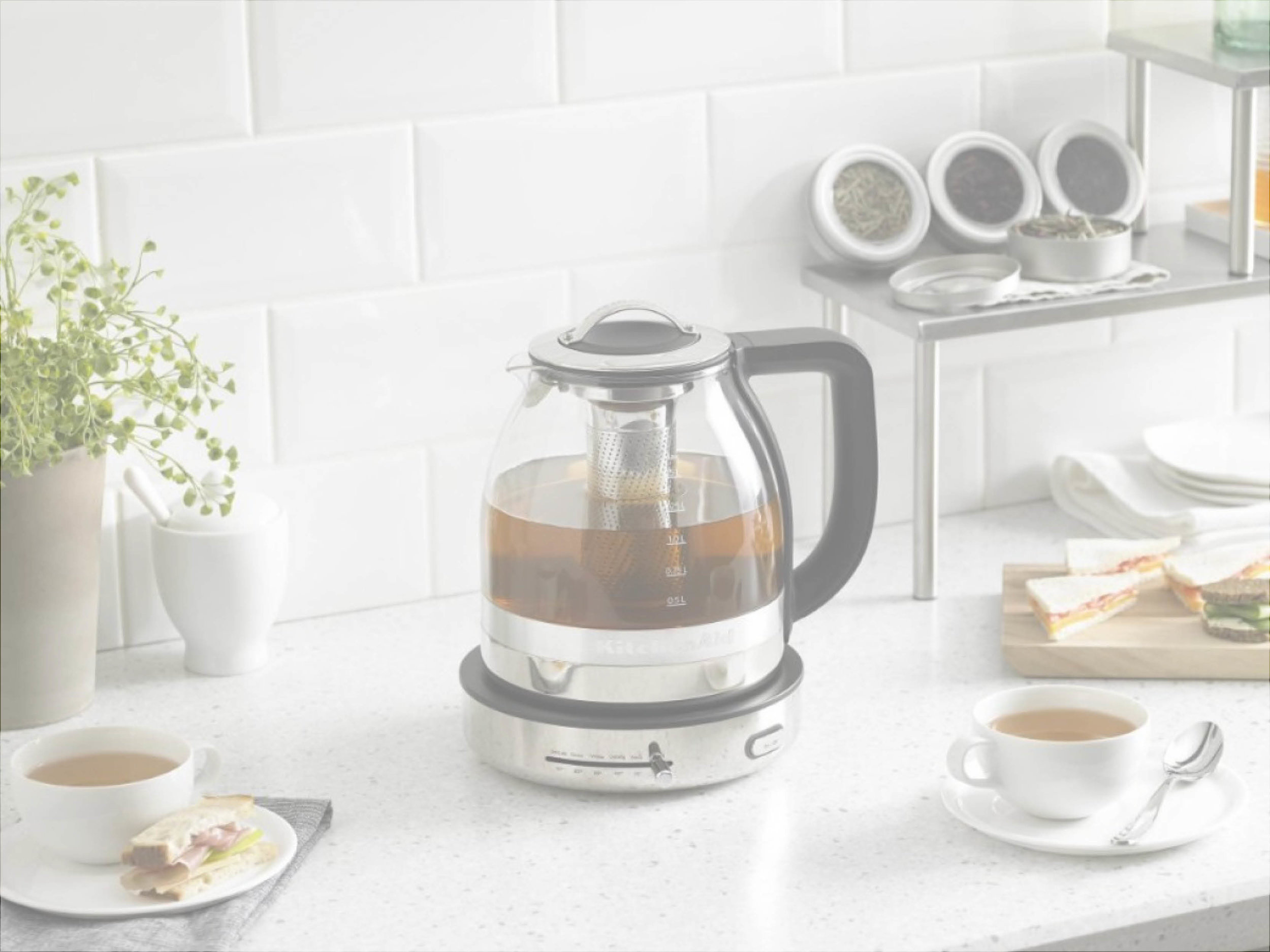 Why is such a simple task so frustrating? - Current controls for electric tea kettles are frustrating. The limited presets on some electric tea kettles allow for little customization. The only alternative is selecting the temperature with up and down arrows, one degree at a time. Neither option is simple or efficient.