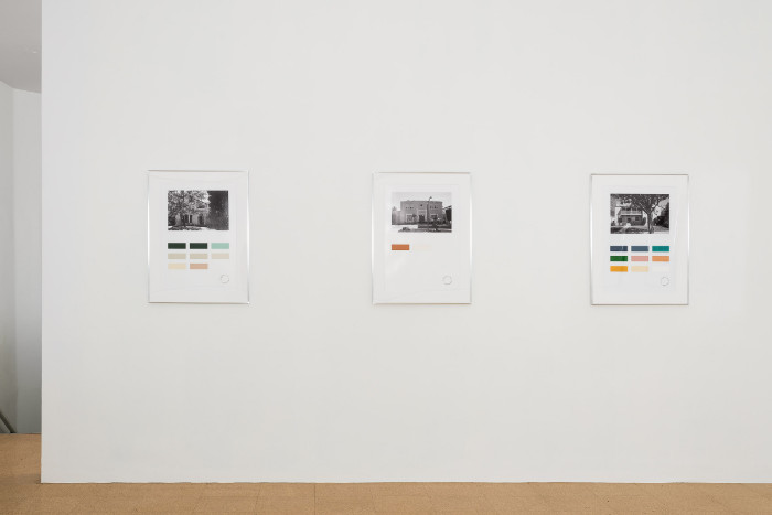 Fiona Connor, Color Census, 2017. Installation view 1301PE.