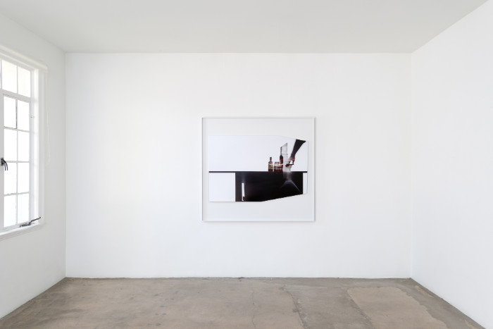 """Uta Barth, In the Light and Shadow of Morandi (17.01), 2017, Archival Pigment print in artist frame, 48.75"""" x 52.75"""" x 1.75"""" (framed), edition of 6, 2 APs. Installation view 1301PE."""